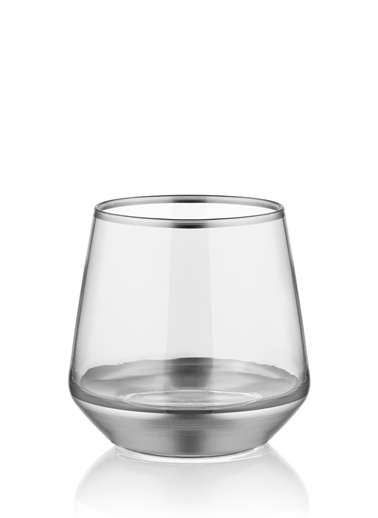 The Mia Glam Viski 6 Parça -Gümüş Gümüş